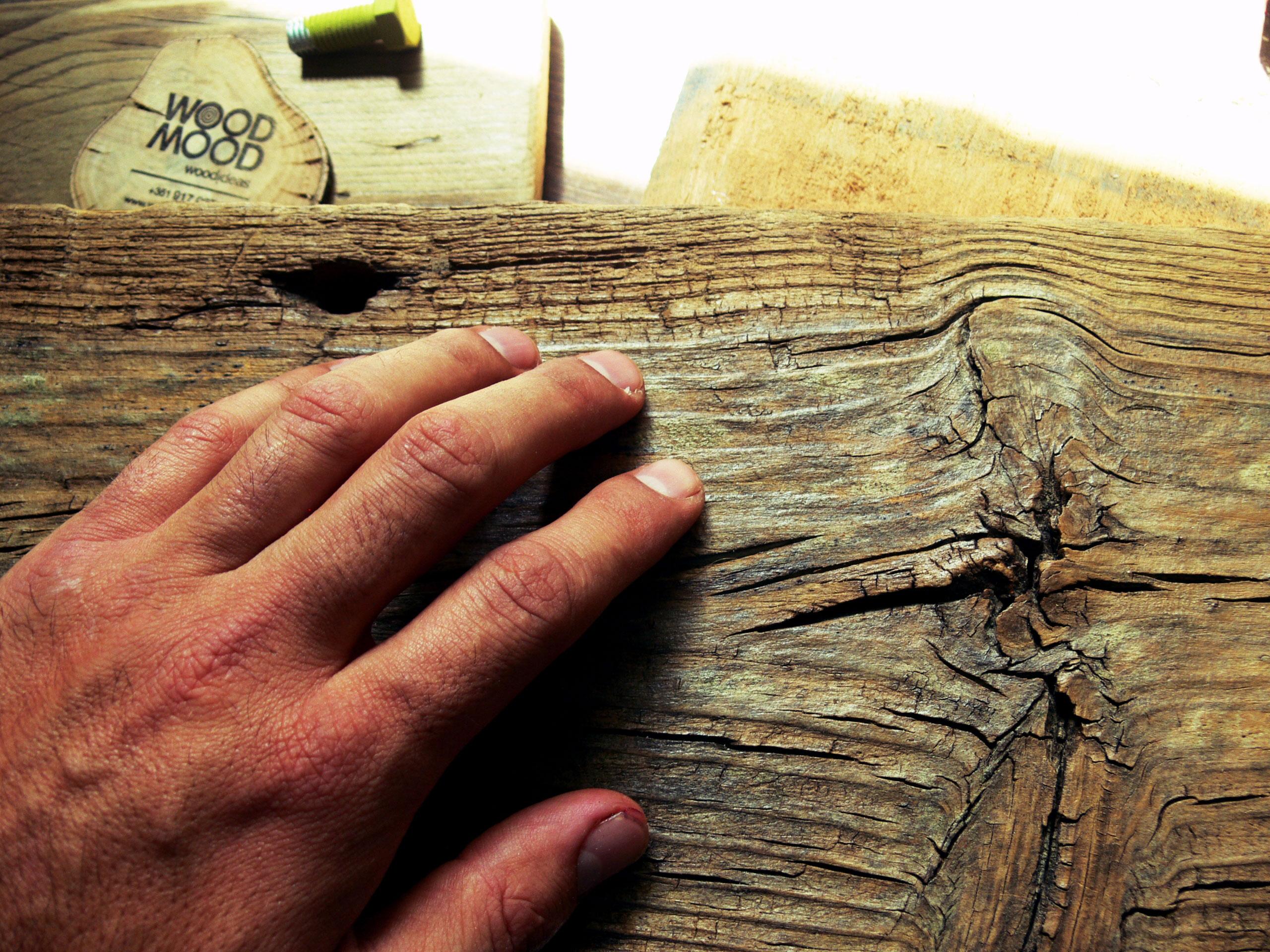 Cabide de parede carvalho com frase